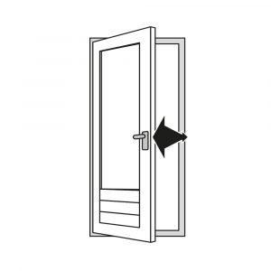 Hor voor deur kan u vinden via Unilux